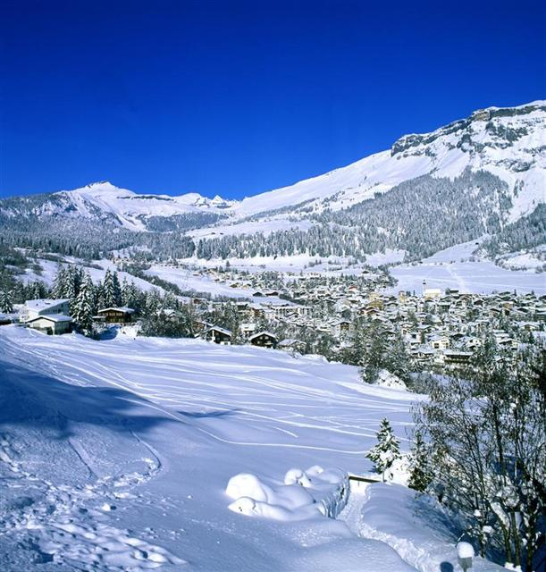 Flims Laax Falera Ski Holidays piste map ski resort reviews