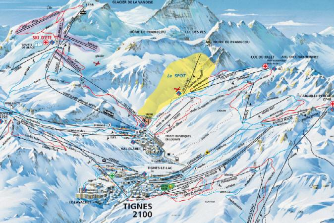 Val dIsere Tignes Ski Holidays piste map ski resort reviews
