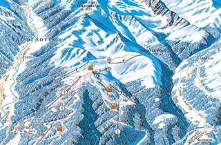 Bormio Alta Valtellina Ski Holidays piste map ski resort reviews