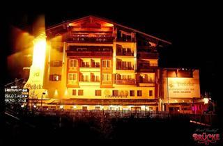 Austria, Zillertal, Mayrhofen, Hotel Brucke