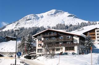 Austria, Arlberg, Lech am Arlberg, Hotel Haldenhof
