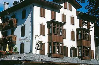 Italy, Cortina d'Ampezzo, San Vito di Cadore, Hotel Alemagna