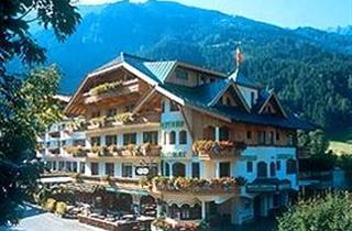 Austria, Zillertal, Mayrhofen, Hotel Perauer