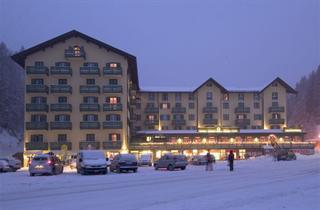 Italy, Cortina d'Ampezzo, Misurina, Grand Hotel Misurina