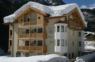Italy, Civetta, Rocca Pietore, Apartments Sol & Nef