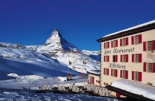 Switzerland, Zermatt, Hotel Riffelberg