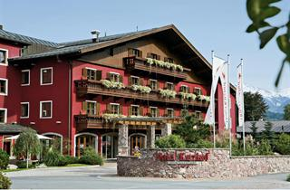 Austria, Kitzbuhel Alps, Kitzbühel, Kitzhof Mountain Design Resort