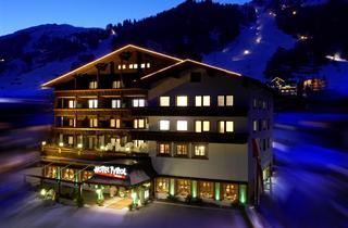 Austria, Arlberg, St. Anton am Arlberg, Hotel Tyrol