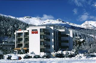 Switzerland, St. Moritz – Engadin, St. Moritz, Hotel San Gian Superior