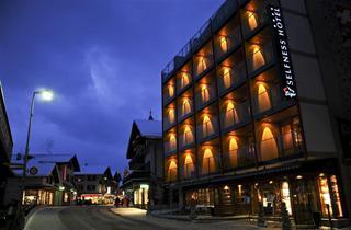 Switzerland, Jungfrau, Grindelwald, Hotel Eiger
