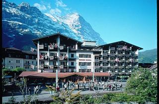 Switzerland, Jungfrau, Grindelwald, Hotel Derby