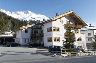 Austria, Arlberg, St. Anton am Arlberg, Apartments Apart Korona