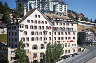 Switzerland, St. Moritz – Engadin, St. Moritz, Hotel La Margna