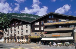 Switzerland, Gstaad Saanen, Zweisimmen, Hotel Résidence