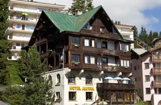 Switzerland, Arosa - Lenzerheide, Arosa, Hotel Alpina