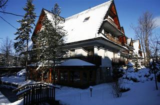 Poland, Zakopane, Polish Mountains, Hotel Czarny Potok