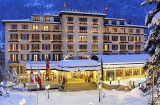 Switzerland, Zermatt, Grand Hotel Zermatterhof