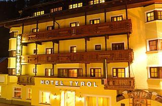 Austria, Oetztal - Soelden, Sölden, Hotel Tyrol