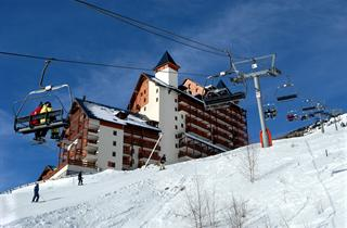 France, Les Deux Alpes, Residence Le Flocon d'Or