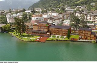 Austria, Kaprun - Zell am See, Zell am See, Seehotel-Seevilla Freiberg