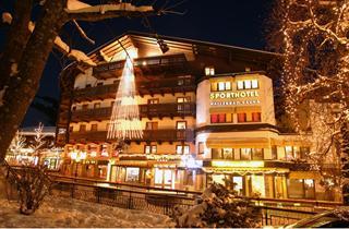 Austria, Saalbach Hinterglemm Leogang, Saalbach, Hotel Berger Sport