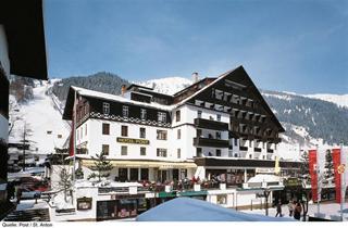 Austria, Arlberg, St. Anton am Arlberg, Hotel Post