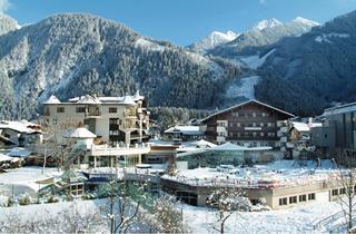Austria, Zillertal, Mayrhofen, Hotel Strass
