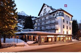 Switzerland, Davos - Klosters, Davos, Hotel Meierhof