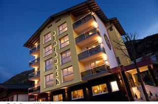Austria, Saalbach Hinterglemm Leogang Fieberbrunn, Hinterglemm, Hotel Almrausch