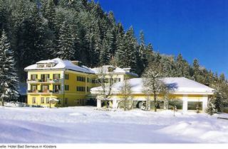 Switzerland, Davos - Klosters, Klosters, Hotel Bad Serneus