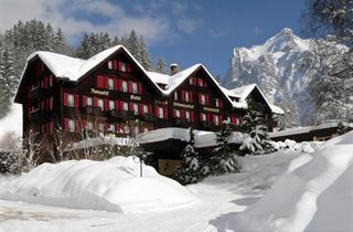 Switzerland, Jungfrau, Grindelwald, Romantik Hotel Schweizerhof