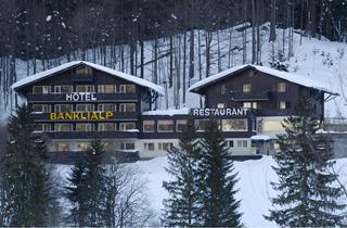 Switzerland, Engelberg, Hotel Bänklialp