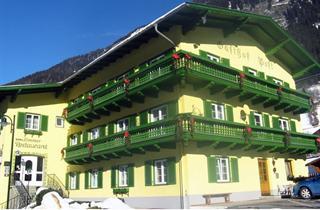 Austria, Heiligenblut, Mörtschach, Hotel Post