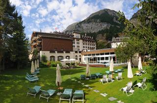 Switzerland, Zermatt, Hotel Mont Cervin Palace