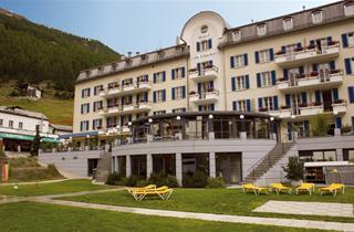 Switzerland, Saas Fee – Saastal, Saas Fee, Hotel du Glacier