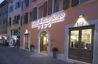 Italy, Lake Garda, Riva del Garda, Hotel Antico Borgo