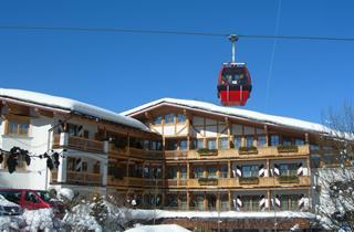 Austria, Kitzbuhel Alps, Kitzbühel, Hotel Kaiserhof s