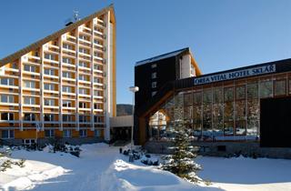 Czech Republic, Certova Hora-Harrachov, Harrachov, Orea Vital Hotel Sklar