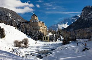 Switzerland, St. Moritz – Engadin, Pontresina, Hotel Schloss Wellness & Family