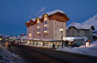 Italy, Adamello Ski, Passo Tonale, Sport Hotel Vittoria