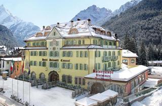 Italy, Val di Fassa - Carezza, Canazei, Schlosshotel Dolomiti