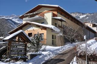 Italy, Val di Fassa - Carezza, Vigo di Fassa, Hotel Enrosadira