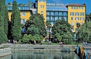 Italy, Lake Garda, Riva del Garda, Grand Hotel Riva