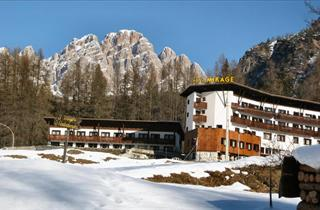 Italy, Cortina d'Ampezzo, Hotel Mirage