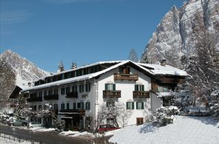 Italy, Cortina d'Ampezzo, Hotel Menardi
