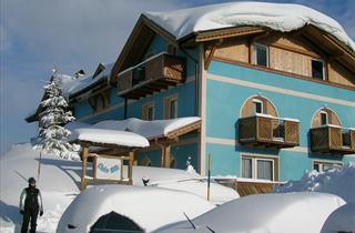 Italy, Adamello Ski, Passo Tonale, Hotel Cielo Blu