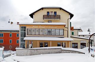 Italy, Folgaria - Lavarone - Luserna, Chiesa, Hotel Al Cervo