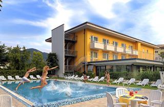Italy, Lake Garda, Riva del Garda, Hotel Campagnola