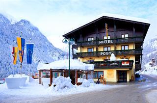 Austria, Heiligenblut, Hotel Post