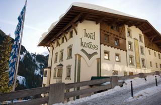 Austria, Arlberg, St. Anton am Arlberg, Hotel Kertess
